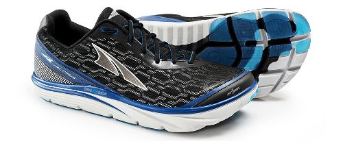 Mens Altra Torin iQ Running Shoe - Black/Blue 10