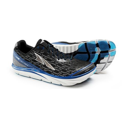 Mens Altra Torin iQ Running Shoe - Black/Blue 11