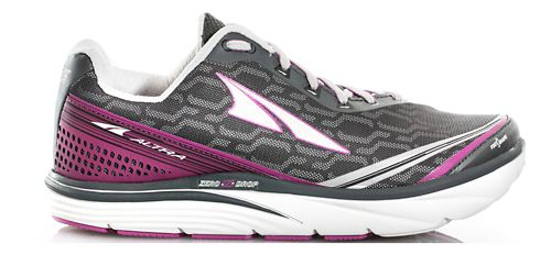 Womens Altra Torin iQ Running Shoe - Black/Purple 11