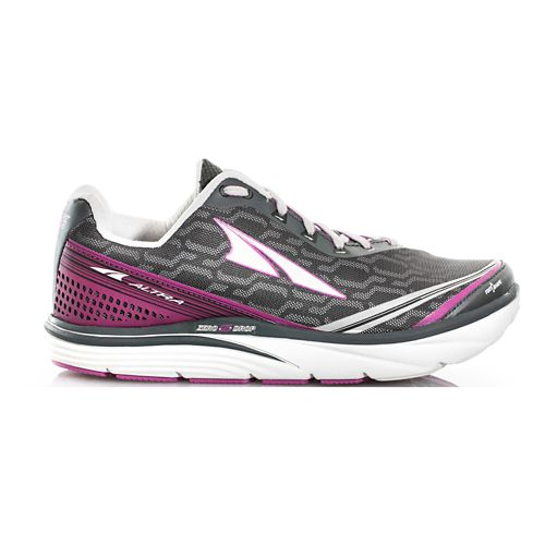 Womens Altra Torin iQ Running Shoe - Black/Purple 8.5