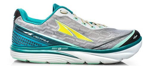 Womens Altra Torin iQ Running Shoe - Teal/White 6.5