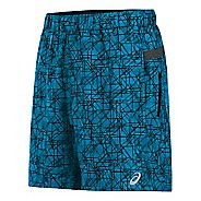 "Mens ASICS 7"" Woven Unlined Shorts"