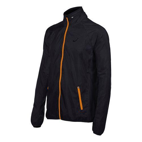 Mens ASICS Athlete GPX Running Jackets - Black L