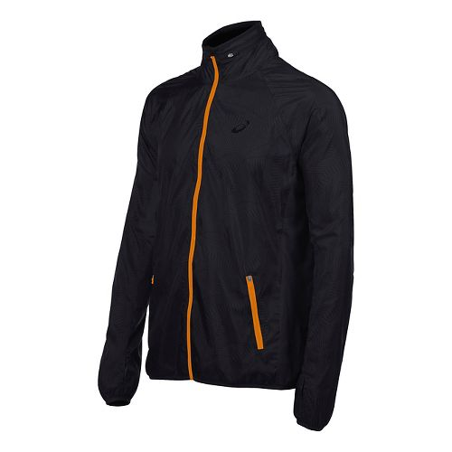 Mens ASICS Athlete GPX Running Jackets - Black XL