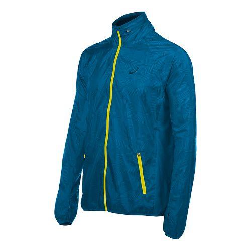 Mens ASICS Athlete GPX Running Jackets - Thunder Blue L