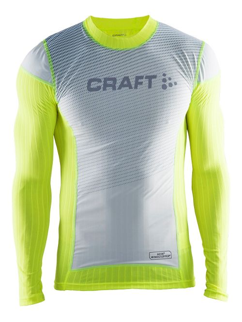 Mens Craft Active Extreme 2.0 Crewneck Long Sleeve Technical Tops - Flumino L