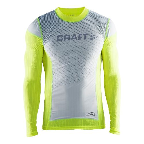 Mens Craft Active Extreme 2.0 Crewneck Long Sleeve Technical Tops - Flumino S