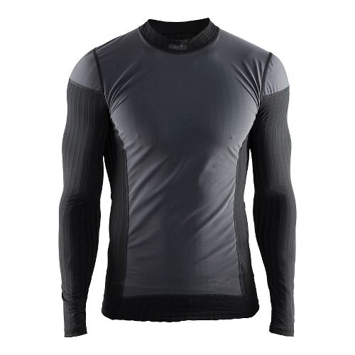 Mens Craft Active Extreme 2.0 Crewneck WS Long Sleeve Technical Tops - Black M