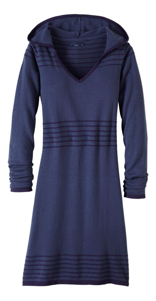 Womens prAna Mariette Dress Fitness Skirts - Grey XS