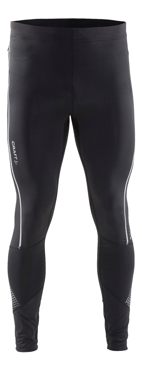 Mens Craft Brilliant 2.0 Light Tights & Leggings Pants - Black S