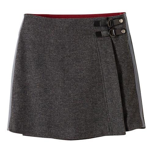 Womens prAna Quincy Fitness Skirts - Grey L