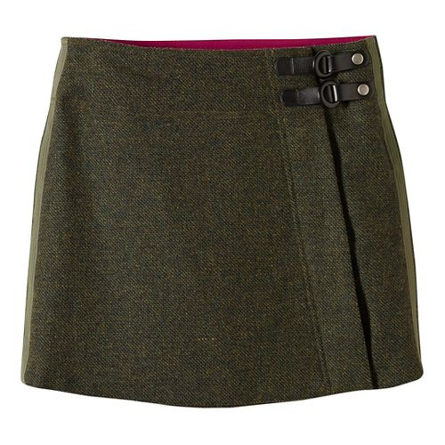 Womens prAna Quincy Fitness Skirts - Green M