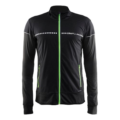 Mens Craft Cover Cold Weather Jackets - Black/Shout L