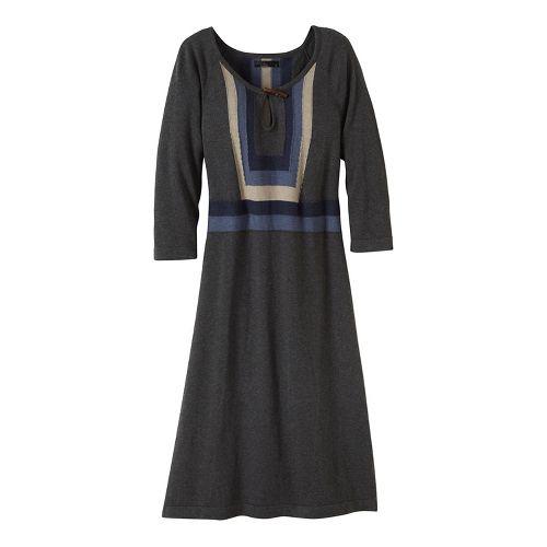 Womens prAna Yarrah Dresses - Black L
