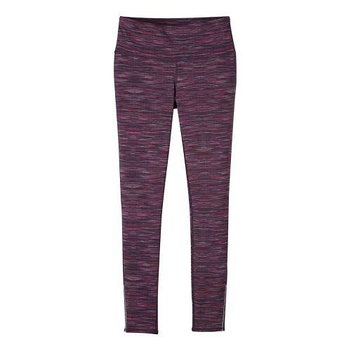 Womens prAna Caraway Tights & Leggings Pants - Purple S