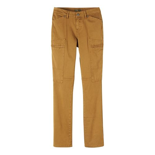 Womens prAna Louisa Straight Leg Pants - Brown/Brown 6