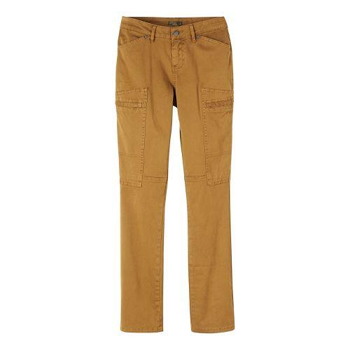 Womens prAna Louisa Straight Leg Pants - Brown/Brown 8