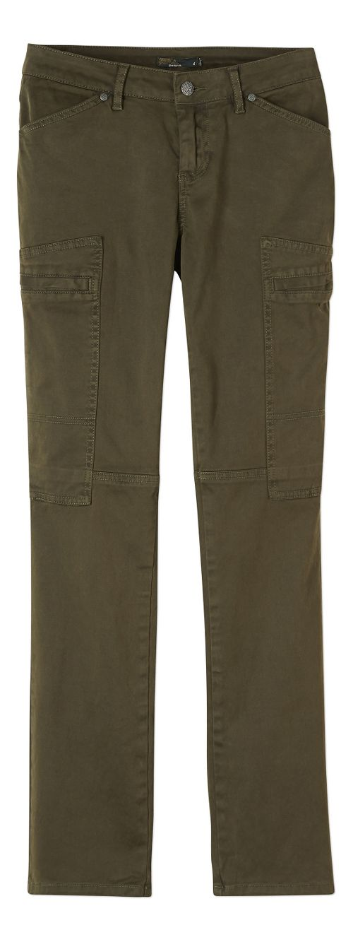 Womens prAna Louisa Straight Leg Pants - Green 8