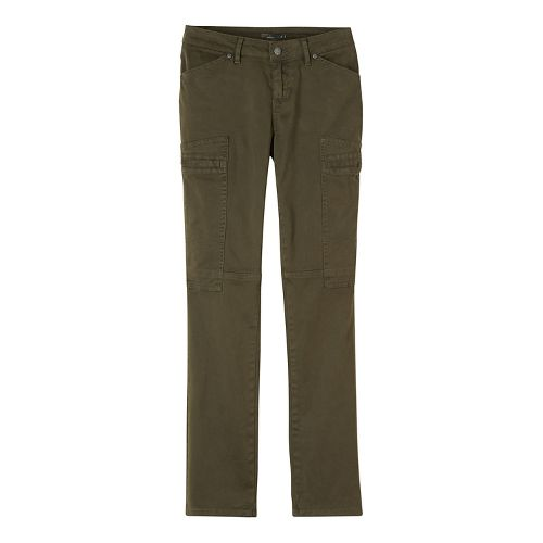 Womens prAna Louisa Straight Leg Pants - Green 12