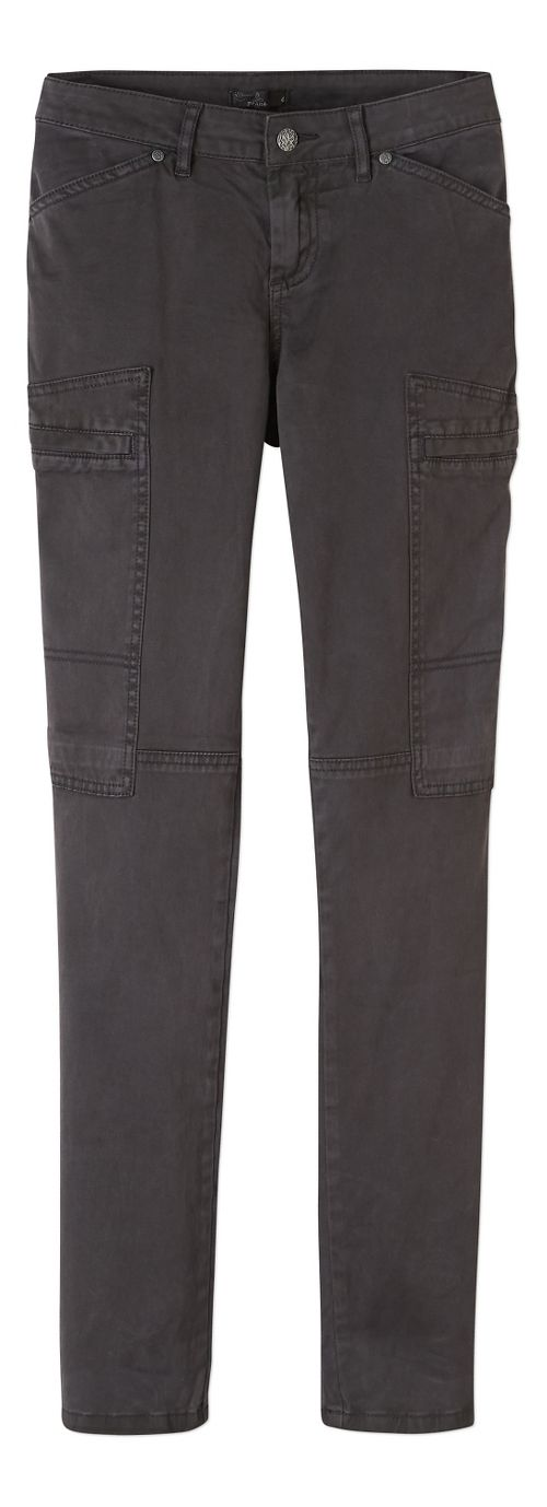 Womens prAna Louisa Skinny Leg Pants - Black 4