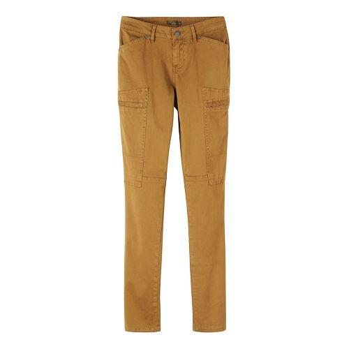 Womens prAna Louisa Skinny Leg Pants - Brown/Brown 14