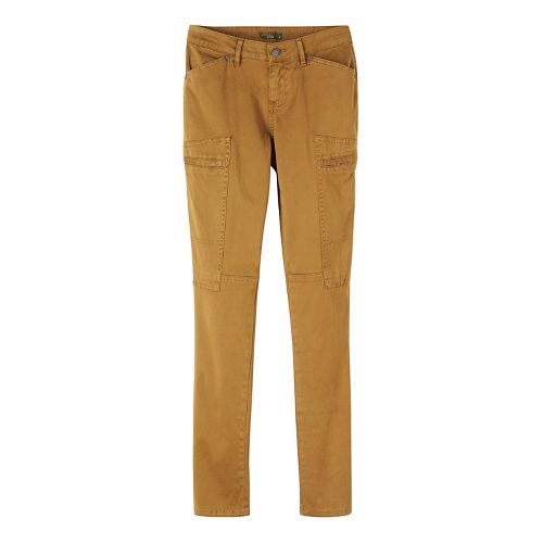 Womens prAna Louisa Skinny Leg Pants - Brown/Brown 2