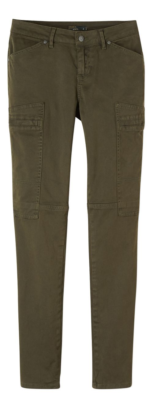 Womens prAna Louisa Skinny Leg Pants - Green 10