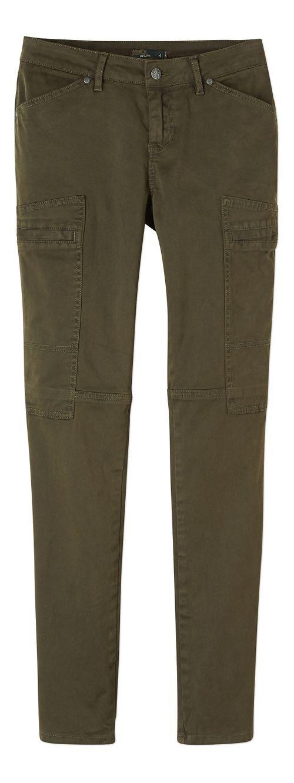 Womens prAna Louisa Skinny Leg Pants - Green 4