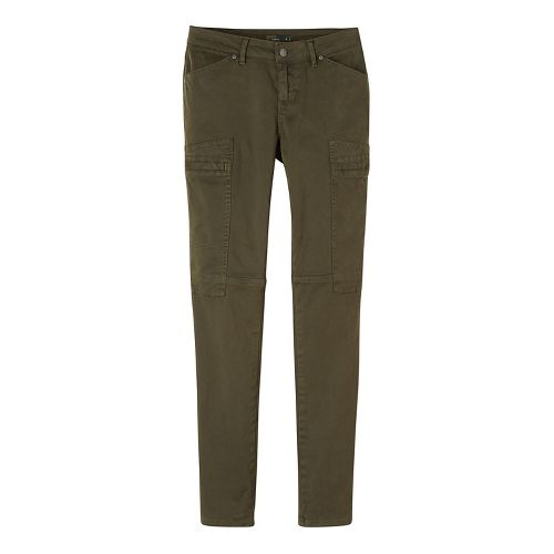 Womens prAna Louisa Skinny Leg Pants - Green 6