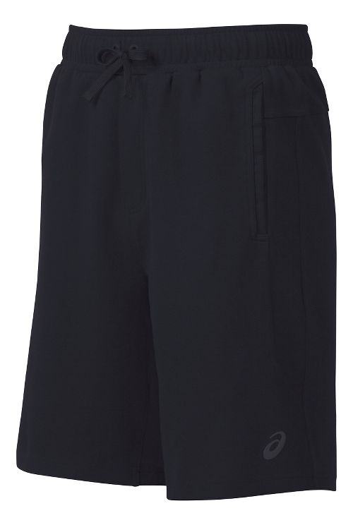 Mens ASICS Knit Unlined Shorts - Black XXL