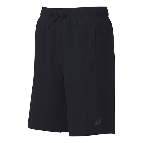 Mens ASICS Knit Unlined Shorts - Black S
