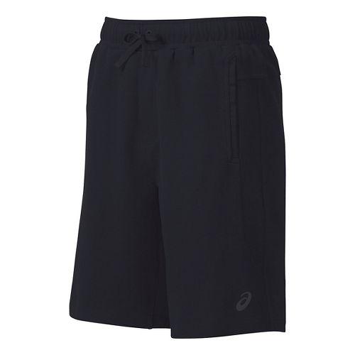Mens ASICS Knit Unlined Shorts - Black XXL