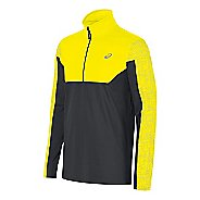 Mens ASICS Lite-Show Half-Zips & Hoodies Technical Tops