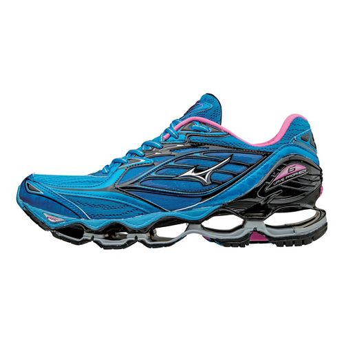 Womens Mizuno Wave Prophecy 6 Running Shoe - Diva Blue/Silver 8