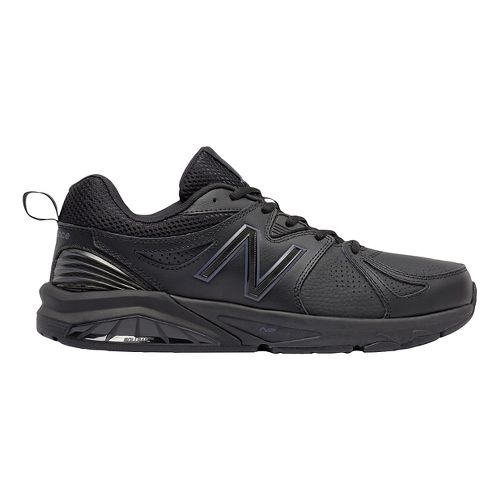 Mens New Balance 857v2 Cross Training Shoe - Black/Black 7.5