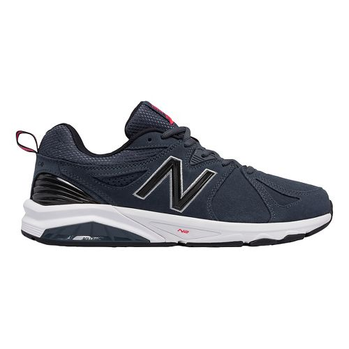 Mens New Balance 857v2 Cross Training Shoe - Charcoal/Charcoal 8