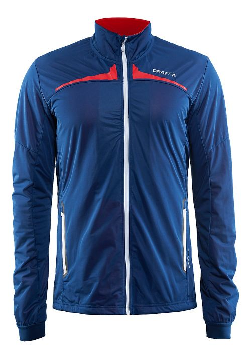 Mens Craft Intensity Cold Weather Jackets - Blue/Gravel XXL