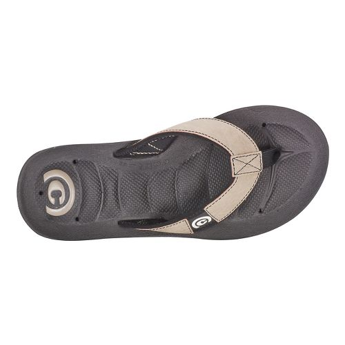 Mens Cobian Draino Sandals Shoe - Cement 9