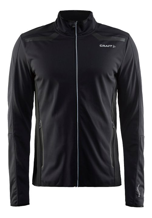 Mens Craft Intensity Softshell Cold Weather Jackets - Black M