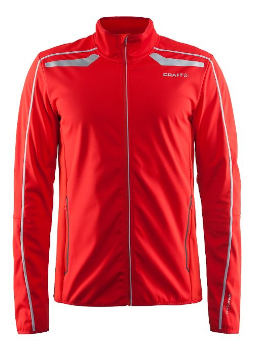 Mens Craft Intensity Softshell Cold Weather Jackets - Drama Red S