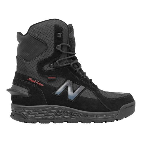 Mens New Balance 1000v1 Walking Shoe - Black/Red 10.5