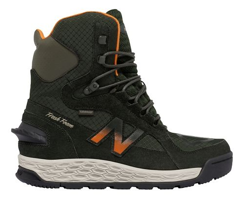 Mens New Balance 1000v1 Walking Shoe - Dark Green/Orange 12