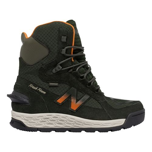 Mens New Balance 1000v1 Walking Shoe - Dark Green/Orange 11.5