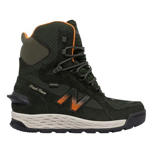 Mens New Balance 1000v1 Walking Shoe - Dark Green/Orange 7.5
