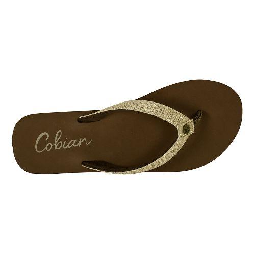Womens Cobian Fiesta Bounce Sandals Shoe - Tan 6