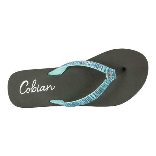 Womens Cobian Fiesta Bounce Sandals Shoe - Mint 6