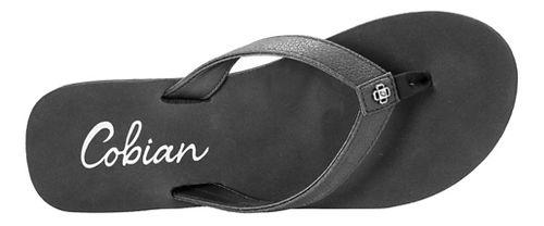 Womens Cobian Skinny Bounce Sandals Shoe - Black 9