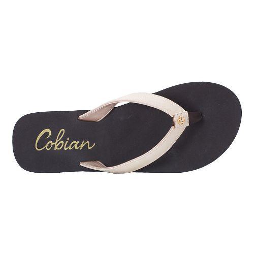 Womens Cobian Skinny Bounce Sandals Shoe - Bone 6