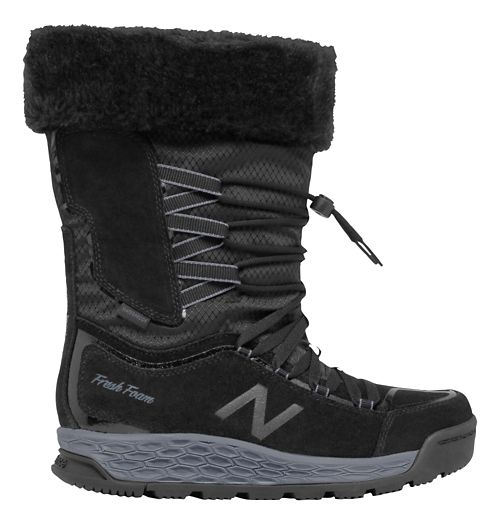 Womens New Balance 1000v1 Walking Shoe - Black/Grey 10.5