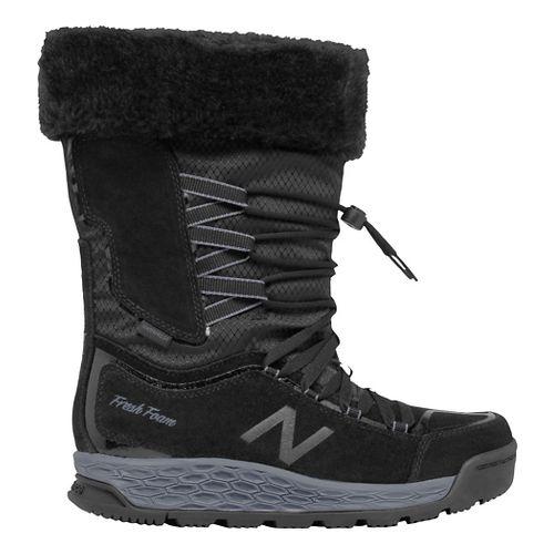 Womens New Balance 1000v1 Walking Shoe - Black/Grey 7.5
